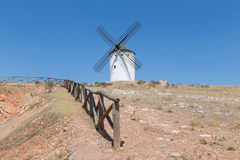 Windmill near Alcazar de San Juan Royalty Free Stock Image