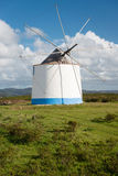 Windmill near Odeceixe, Portugal Stock Photo