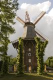 Windmill Near A River Royalty Free Stock Photos