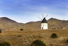 Windmill near San Jose Royalty Free Stock Images