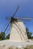 Windmill near St-Michel I' Observatoire Royalty Free Stock Photo