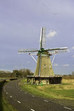 Dutch Windmill. Windmill of Windesheim, built in 1748 and last renovated in 1952. This one is still in use to mill wheat into flower Royalty Free Stock Images