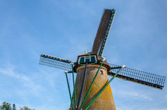 Windmill in Netherland. Antique traditional Windmill in Netherland Royalty Free Stock Photo