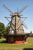 Windmill in Netherland Stock Image