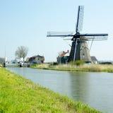 Windmill, Netherlands. Windmill near Akersloot in Netherlands Stock Photo