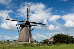Windmill in the Netherlands Royalty Free Stock Photography