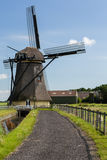 Windmill in the Netherlands Stock Images