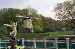 Windmill in the Netherlands Royalty Free Stock Image