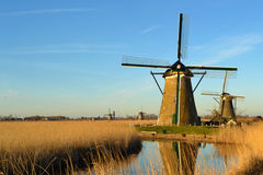 Windmill Netherlands Sun Royalty Free Stock Photography