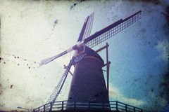 Windmill in Netherlands Stock Photos