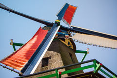 Windmill in The Netherlands Stock Photo
