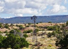 Windmill , New Mexico Royalty Free Stock Photography
