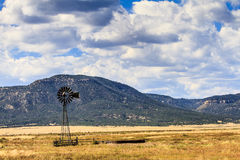 Windmill in New Mexico Royalty Free Stock Images