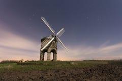 Windmill at night Stock Photos