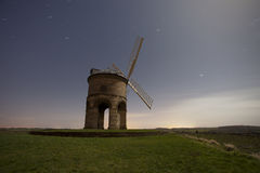 Windmill at night Royalty Free Stock Photo