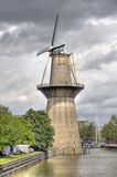 Windmill Nolet in Schiedam, Holland Stock Images