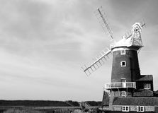 Windmill - Norfolk Stock Photos