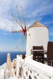Windmill of Oia, Santorini Royalty Free Stock Photos