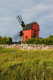 Windmill in Oland Stock Photo