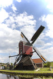 Windmill. A old dutch windmill with blue sky Stock Photo