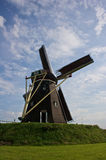 Windmill. Old windmill in the dutch town Stock Photography