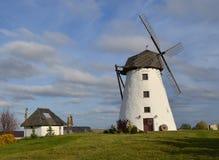 Windmill. Old windmill located in Ida-Virumaa, Estonia Stock Photos
