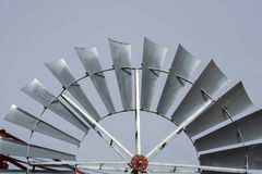Windmill. An old windmill in the Texan prairie Royalty Free Stock Images