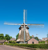 Windmill in old town of Laren, North Holland, Netherlands Stock Photography