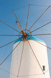 Windmill On Greek Island Royalty Free Stock Image