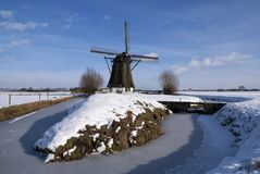 Windmill Oude Doornse Molen royalty free stock image