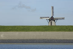 Windmill of Oudeschild, Texel, The Netherlands Royalty Free Stock Image