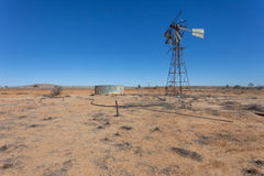 Windmill in outback Australia. Stock Image
