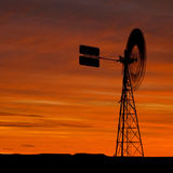 Windmill Outback Australia Royalty Free Stock Image