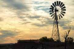 Windmill Outback Australia Stock Photo