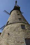 Windmill Ovenstaedt (Petershagen, Germany) Royalty Free Stock Images