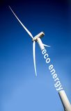 Windmill over a blue sky Royalty Free Stock Photos