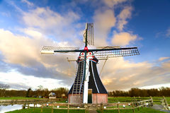 Windmill over blue sky Stock Image