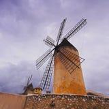 Windmill in Palma of Majorca. Windmill in Palma de Mallorca, Balearic Islands, Spain Royalty Free Stock Image