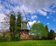 Windmill Papenburg. Old windmill in Papenburg, Germany Stock Photo