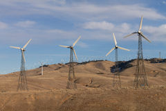 Windmill park at Techahapi Stock Photos