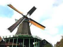 Windmill. This photo is shot in Holland Stock Photo