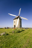 Windmill in Pontorson Stock Image