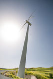Windmill  power generation Stock Photo