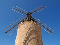 Windmill in Provence Royalty Free Stock Image