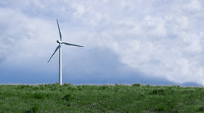 Windmill - pure Energy Stock Images