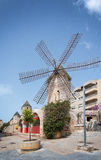 Windmill in Quattro Molinos Royalty Free Stock Images