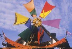 Windmill at Renaissance Faire, Agoura, California Royalty Free Stock Photo