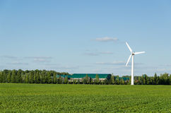 Windmill renewable electricity energy generation Stock Photo