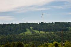 Windmill for renewable energy Stock Image