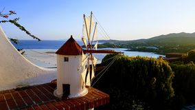 Windmill replic Royalty Free Stock Photo
